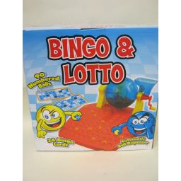 New Halsall Traditional Family Bingo And Lotto Game 24 Bingo Cards