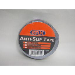 New Stuk Anti Slip Tape For All Floors Self Adhesive Black 25mm x 3Metres Danger