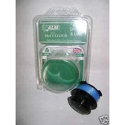 New ALM McCulloch Mac 210 Replacement Spool & Line MC108