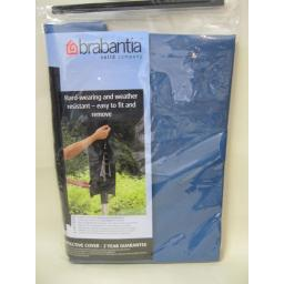 New Brabantia Waterproof Rotary Line Airer Drier Cover Lift O Matic Blue