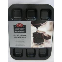 New Tala Performance Bakeware 10 Year Guarantee 12 Cup Square Brownie Pan