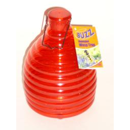 New Buzz Outdoor Wasp Honeypot Trap Killer Red STV368