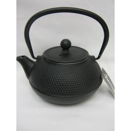 New Victor Small 0.75L Cast Iron Teapot Kettle Camping Black CWE040