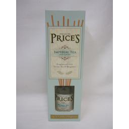 New Prices Heritage Range Candles Reed Diffuser Fragrance Imperial Tea