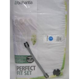 New Brabantia Cotton Ironing Board Cover C 124 45 4mm Foam 4mm Felt Green Clover