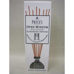 New Prices Candles Reed Diffuser Fragrance Open Window