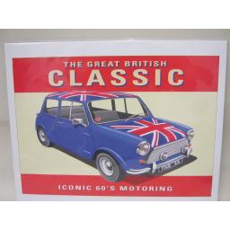 New The Great British Classic Mini Car Photo Picture Print 24cm x 30cm
