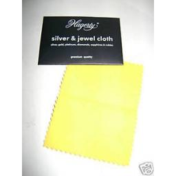New Hagerty Silver Gold Jewel Jewellery Polishing Cloth Small