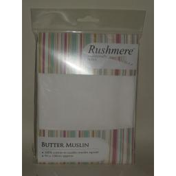 New Rushmere Cooks Butter Muslin Herbs Straining Cloth Jelly Jam 90cm x 75cm