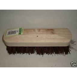 New Traditional Wood Deck Scrubbing Brush Bassine 23cm