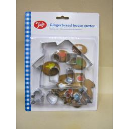 New Tala Stainless Steel Gingerbread House Cookie Cutter Ref 10A10544