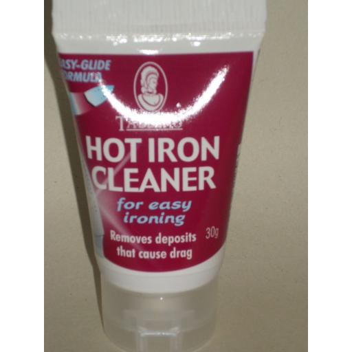 New Tableau Hot Iron Soleplate Cleaner Burn And Scorch Marks 30g