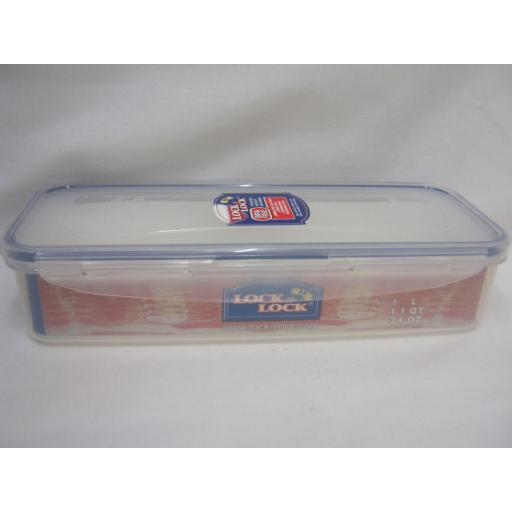 New Lock and & Lock Rectangular Bacon Food Container 1L HPL842