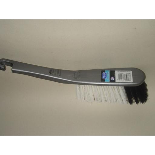 New Addis Soft Bristle Nylon Hand Brush Silver 9222