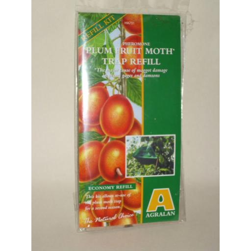 New Agralan Pheromone Plum Fruit Moth Trap Refill