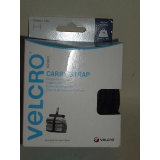 New Velcro Adjustable Carry Strap And Handle 50mm x 1.8m 60326