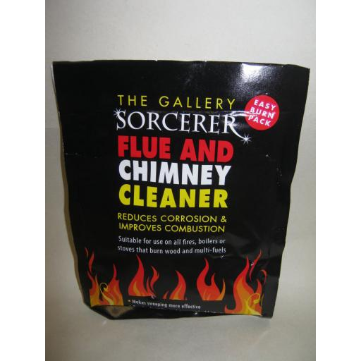 New Sorcerer Chimney & Flue Cleaner Fires Stove Multi-fuel 90g