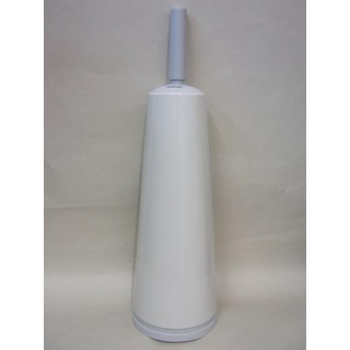 New Brabantia Toilet Loo Brush Holder Painted Matt White