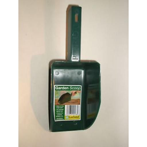 New Garland Garden Kitchen Pet Bird Food Plastic Green Scoop
