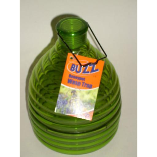New Buzz Outdoor Wasp Honeypot Trap Killer Green STV368