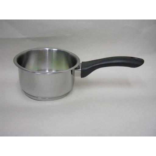 New Pendeford Supreme Stainless Steel Milk Pan 15cm SS2014