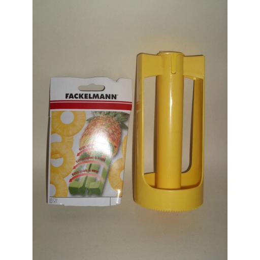 New Fackelmann Plastic Pineapple Fruit Cutter Corer and Peeler