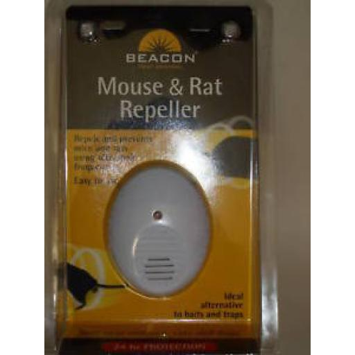New Beacon Mouse And & Rat Plug In Pest Repeller