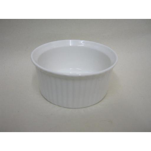 New Wm Bartleet White Porcelain Ramekin Dish 8cm x 3.5cm T133