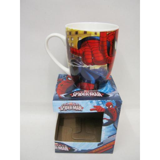 New Boyz Toys Marvel Spiderman Ceramic Tea Coffee Childrens Mug Gift Boxed 70591