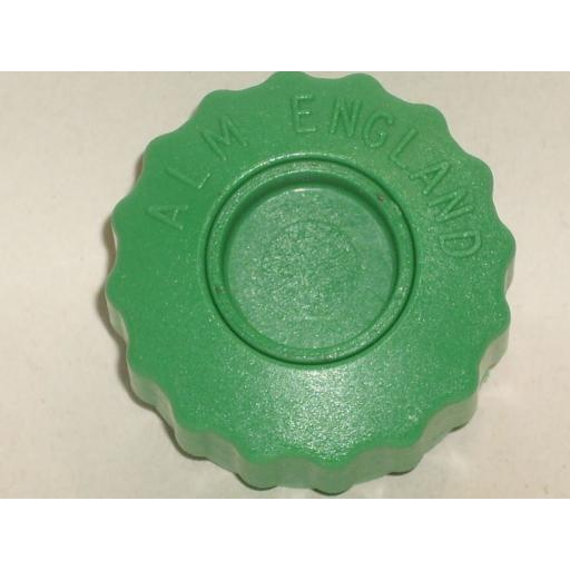 New Alm Spool Bump Knob M8 Bolt Left Hand Thread Green GP005