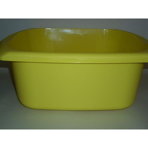 New Addis Yellow Oblong Plastic Washing Up Bowl 38cm 15 Inch