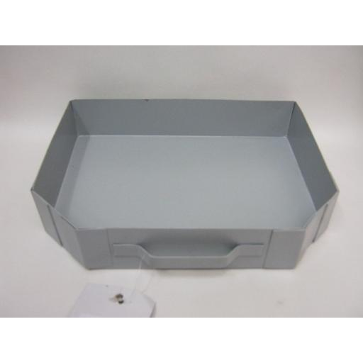 New Manor Grey Steel Ashpan For Coal Fires Dog Grates Ash Pan 0567