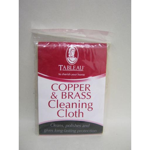 New Tableau Copper & Brass Cleaning Polishing Cloth