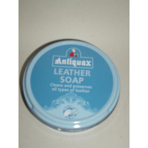 New Antiquax Leather Soap Cleaner Preserver 100ml Tin