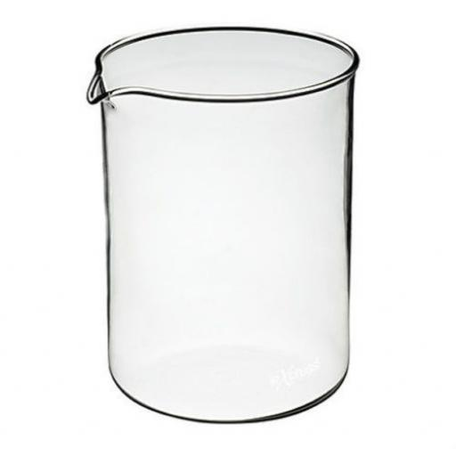 New Le'Xpress Replacement / Spare 4 Cup Cafetiere Glass Jug 10cm x 12cm - PY4CUP