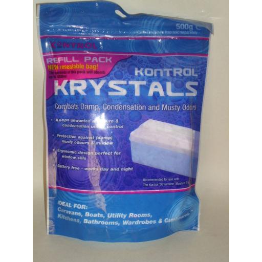 New Streamline Kontrol Moisture Condensation Crystals 500g Refill Pack