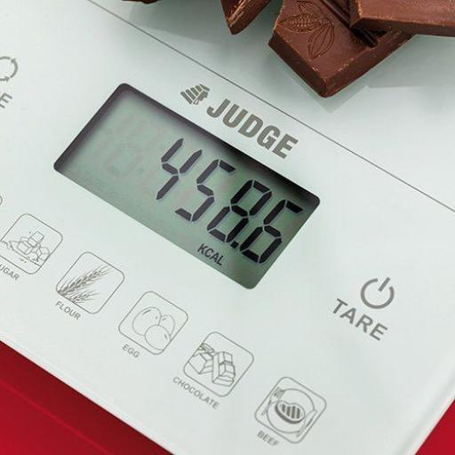 New Judge Kitchen And Diet Weighing Scale With One Touch Calorie Counting J416