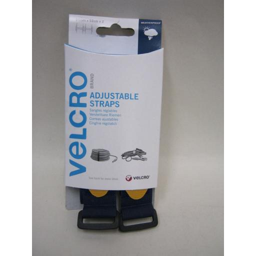 New Velcro Adjustable Straps 25mm x 92cm x 2 Straps 60327