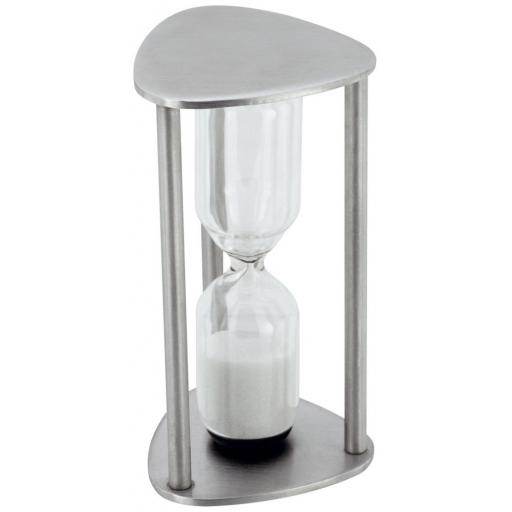 New Judge Stellar Traditional Egg Timer Stainless Steel 3 Minute Sand