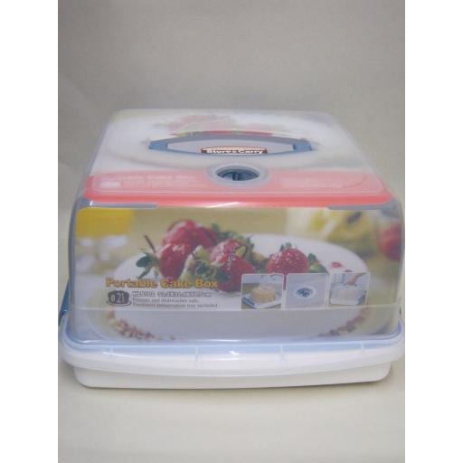 New Lock and & Lock Storage Cake Storage Box Square Container HLS102