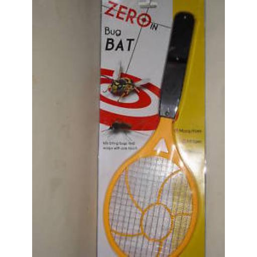 New Zero In Bug Insect Fly Bat Racket Zapper Electronic STV882