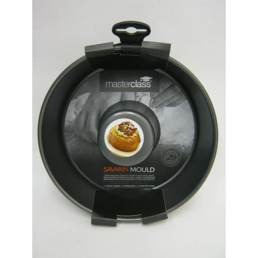 """New Master Class Savrin Ring Mould Heavy Duty Non Stick 20cm 8"""" KCMCHB76"""
