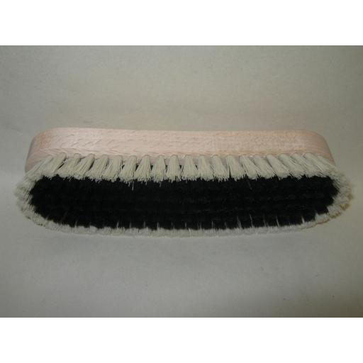New Elliott Clothes Brush Wood Back Nylon Bristles