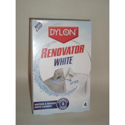New Dylon Renovator Whitens And Revives White Laundry Machine Wash Hand Cleaner