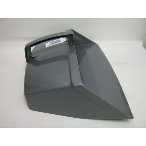 New Addis Plastic Metallic Silver Grey Closed Hooded Dustpan 9763
