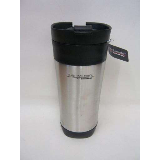 New Thermos Thermocafe Challenger Travel Mug Beaker Cup No Handle 425ml