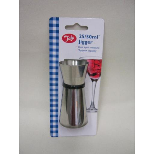 New Tala Stainless Steel Single Double Shot Drink Measure 533057