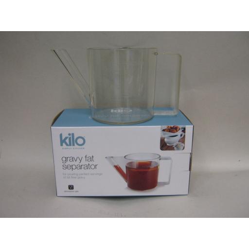 New Kilo Gravy Sauce Fat Separator Strainer Plastic M201