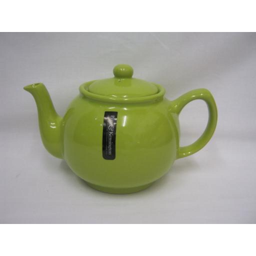 New Price And Kensington Pot Teapot 6 Cup Tea Pot 0056.756 Lime Green