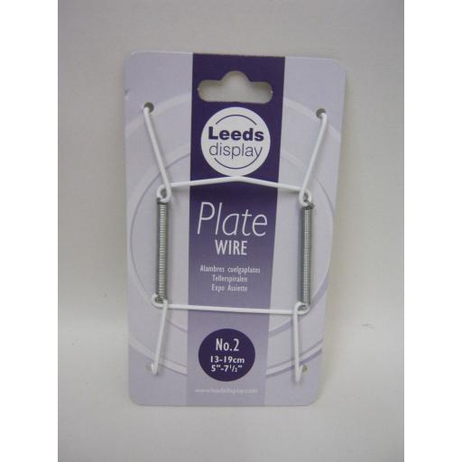 """New Plate Hanger Plastic Coated Wire Plate Size 5"""" To 7.1/2"""" 13 cm To 19 cm"""